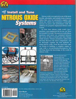 How To Install and Tune Nitrous Oxide Systems  - back