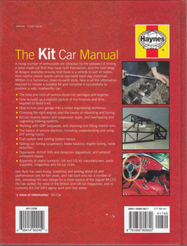 The Kit Car Manual  - back