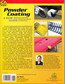 Powder Coating: A How-To Guide For Automobile, Motorcycle, Bicycle & other Parts - back