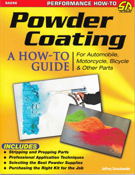 Powder Coating: A How-To Guide For Automobile, Motorcycle, Bicycle & other Parts - front
