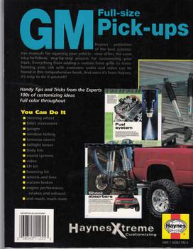 GM Full-size Pick-ups Haynes Xtreme Customizing  - back