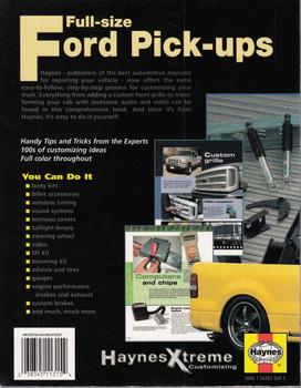 Full-Size Ford Pick-ups Haynes Xtreme Customizing - back