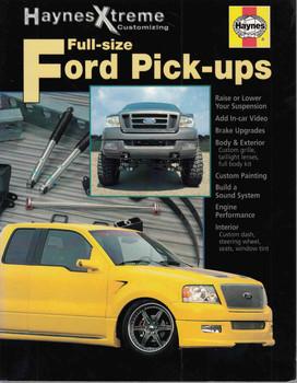 Full-Size Ford Pick-ups Haynes Xtreme Customizing - front