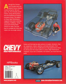 Chevelle / El Camino Handbook - Chevy High Performance  - back
