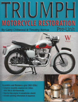 Triumph Motorcycle Restoration Pre-Unit - front