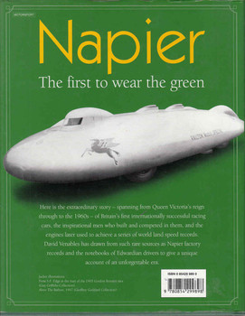 Napier: The First to wear the green - back