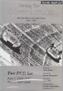 Racing The Silver Arrows: Mercedes-Benz versus Auto Union 1934 - 1939 2-disc DVD Set  - front