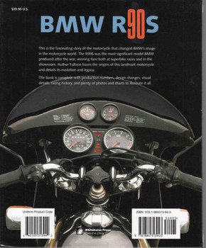 BMW R90s Motorcycle Collection Series - back