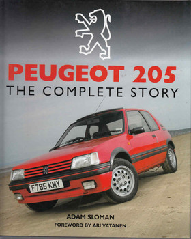 Peugeot 205: The Complete Story - front