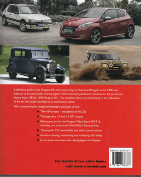 Peugeot 205: The Complete Story - back