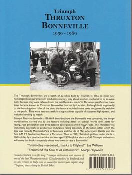 Triumph Thruxton Bonneville 1959 - 1969 - back