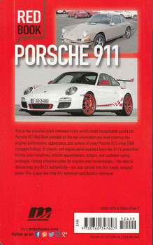 Porsche 911 Red Book - 3rd Edition - back