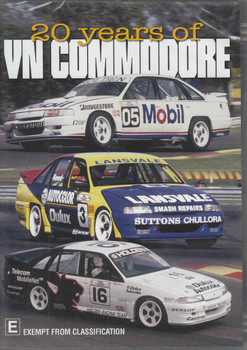 20 Years of VN Commodore DVD - front
