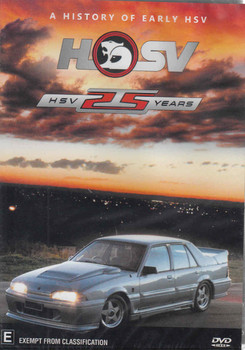 HSV 25 Years: A History Of Early HSV DVD - front