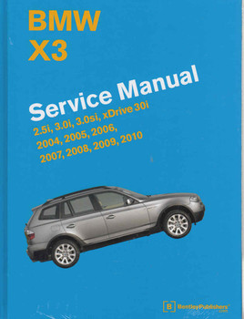 BMW X3 Service Manual 2004 - 2010 - front