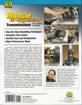 Muncie 4 Speed Transmissions: How to Rebuild and Modify  - back