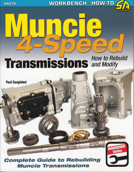 Muncie 4 Speed Transmissions: How to Rebuild and Modify  - front