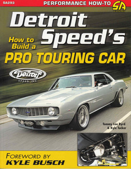 Detroit Speed's How to Build a Pro Touring Car - front