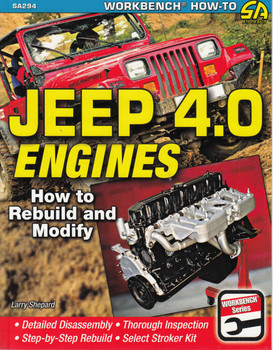 Jeep 4.0 Engines How to Rebuild and Modify - front