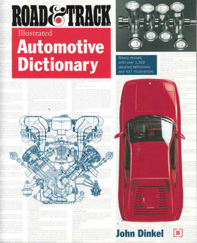 Road & Track Illustrated Automotive Dictionary - front