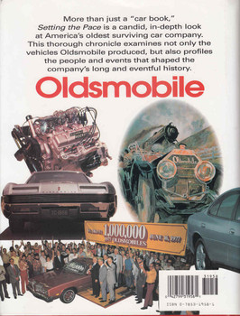Setting The Pace: Oldsmobile's First 100 Years - back