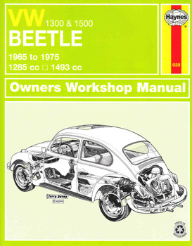 VW Beetle 1300 & 1500 1965 to 1975 Owners Workshop Manual - front