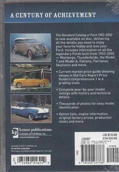 Standard Catalog Of Ford 1903-2002: DIGITAL EDITION - back