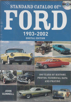 Standard Catalog Of Ford 1903-2002: DIGITAL EDITION - front