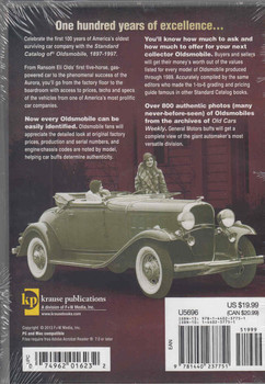 Standard Catalog of Oldsmobile 1897-1997: DIGITAL EDITION  - back
