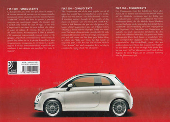 Fiat 500 Cinqecento: Ear Books - back1
