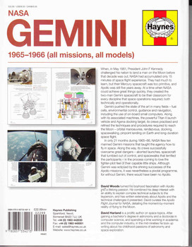 NASA Gemini 1965-1966 (all missions, all models) Owners' Workshop Manual  - back