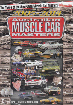 Ten Years of the Australian Muscle Car Masters 2005 - 2014 (2-Discs) DVD - front