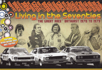 "Living In The Seventies ""The Great Race"" Bathurst 1970 - 1979 6 DVD Box Set DVD - front"