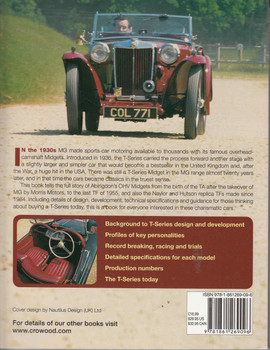 MG T-Series: The Complete Story  - back