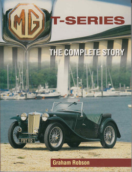 MG T-Series: The Complete Story  - front
