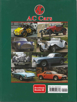 AC Cars 1904-2009 From Auto-Carrier to Cobra - back
