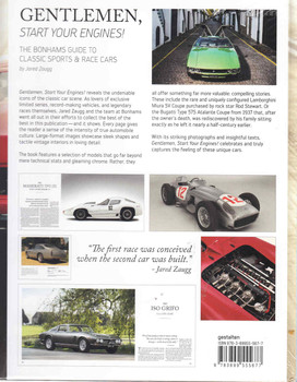 Gentlemen, Start Your Engines: The Bonhams Guide To Classic Sports and Race Cars - back