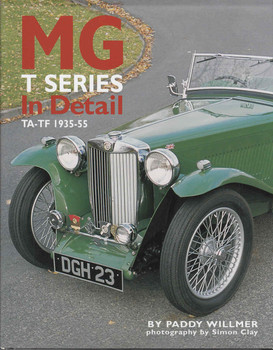 MG T Series In Detail TA - TF 1935 - 55 - front