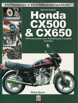 How to restore Honda CX500 & CX650: Enthusiast's Restoration Manual - front