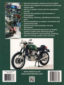 How to restore Honda CX500 & CX650: Enthusiast's Restoration Manual - back