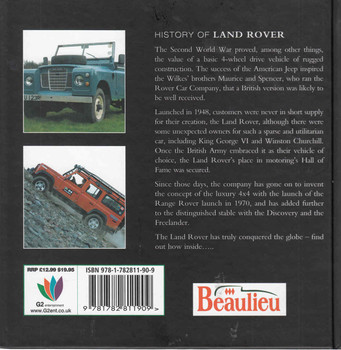 History Of Land Rover - back
