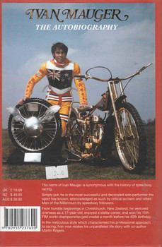 Ivan Mauger: The Will To Win, The Autobiography - SIGNED By Author - back