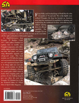 High-Performance Jeep Wrangler TJ Builder's Guide 1997-2006  - back