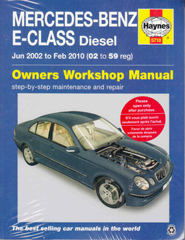 Mercedes-Benz E-Class (W211 Series) Diesel 2002-2010 Workshop Manual  - front