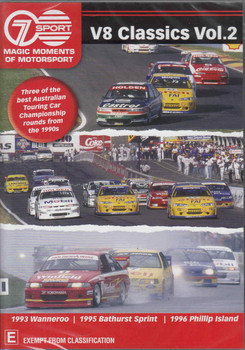 Magic Moments Of Motorsport: V8 Classics Vol.2 DVD  - front
