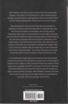 Mark Webber Aussie Grit: My Formula One Journey - back