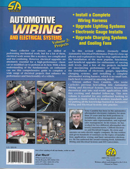 Automotive Wiring and Electrical Systems Volume 2: Projects - back