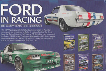 Ford In Racing - The Glory Years Collectors Set 6 DVD Box Set - back