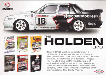 The Holden Films - 6 DVD Box Set - back