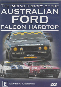 The Racing History Of The Australian Ford Falcon Hardtop DVD  - front